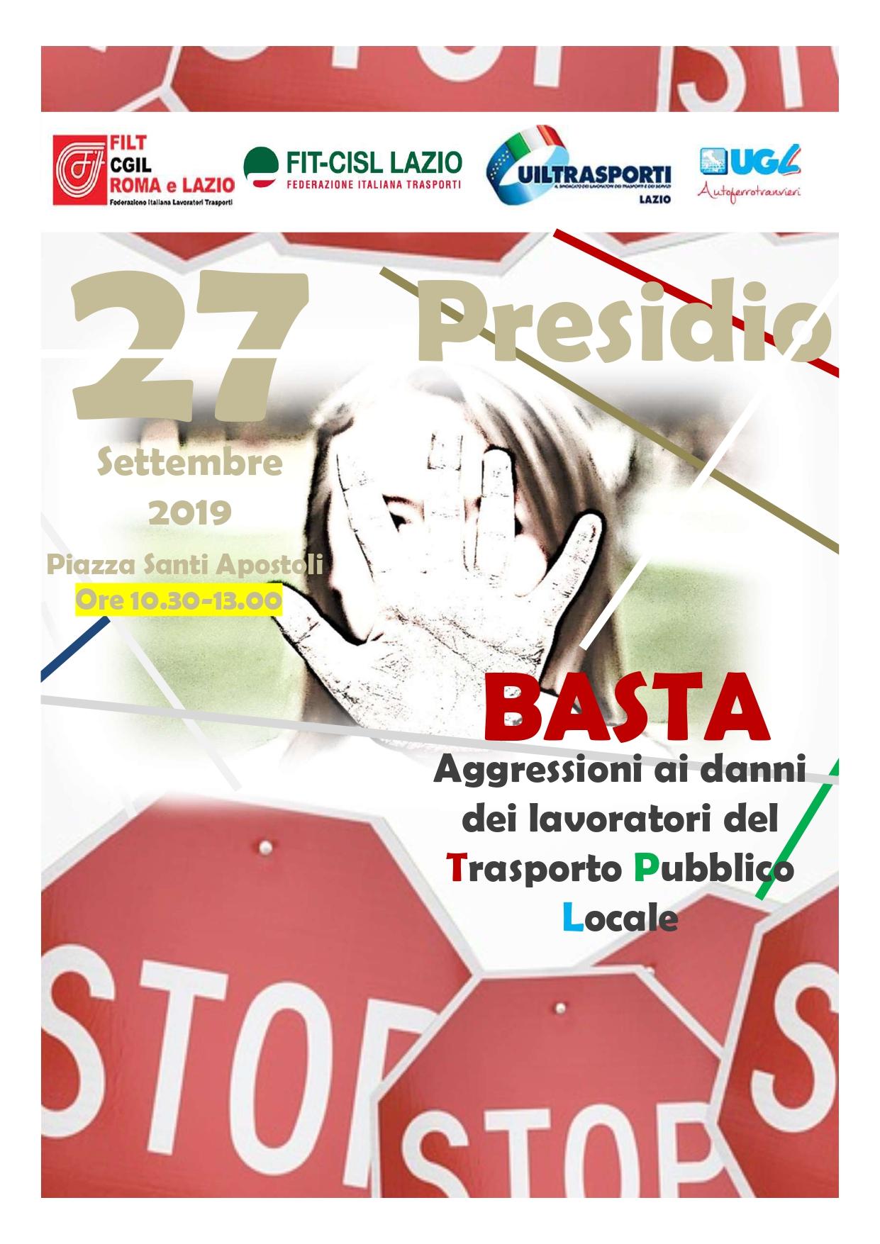 """Sicurezza Tpl Roma, Sindacati:  """"Tavolo Prefettura Recepisce Nostre Richieste,  Ora Passare Da Parole A Fatti"""""""